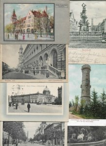 Germany Munchen Berlin Darmstadt Augsburg And More Lot of 20 Postcards 01.07