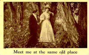 Romantic Couple - Meet me at the same old place