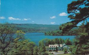 Hillside Inn, Newfound Lake, EAST HEBRON, New Hampshire, PU-1966