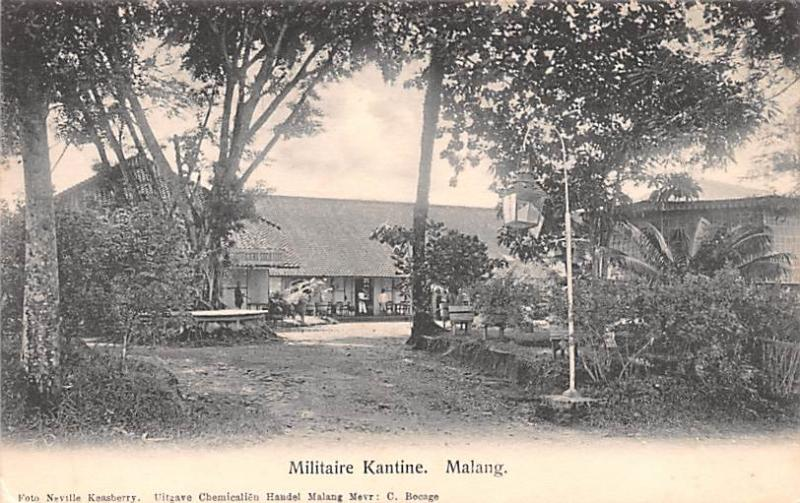 Malang Indonesia, Republik Indonesia Militaire Kantine Malang Militaire Kantine