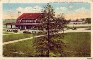 CASINO CLUB HOUSE BUHL FARM SHARON, PA 1921