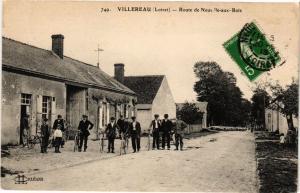 CPA Villereau - Route de Neuve Ile-aux-BOIS (271658)