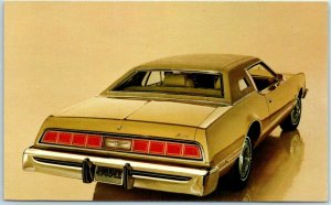1974 FORD THUNDERBIRD Car Advertising Postcard 2-Door Hardtop BEATTIE MOTORS CA