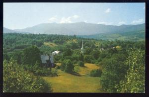 Stowe, Vermont/VT Postcard, Mount Mansfield/Church Spire