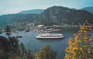 Ferry terminal, Horseshoe Bay, West Vancouver, British Columbia, Canada, 40-60s