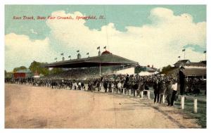 Illinois Springfield , State Fair Grounds , Race Track