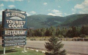 RANDOLPH , New Hampshire , 1950-60s ; Mt. Jefferson Motel