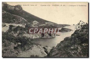Old Postcard Corniche d'Esterel Creeks A M St Barthelemy