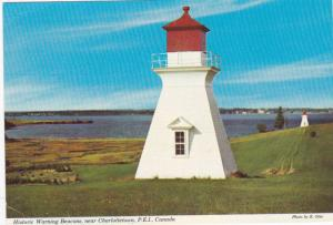 Historic Warning Beacons, near Charlottetown,  Prince Edward Island,  Canada,...