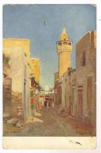 Rue et Monaret, 00-10s Arab town