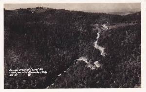 RP, Aerial View Of Laurel Mt., Macomber, West Virginia, 1920-1940s