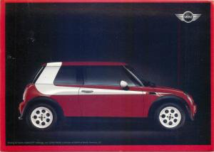 Postcard Starsky & Hatch 2003 Auto Mini Cooper division of BMW of North America