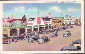 MEX Tijuana Main Street Looking North