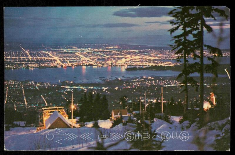 Night View from Grouse Mountain