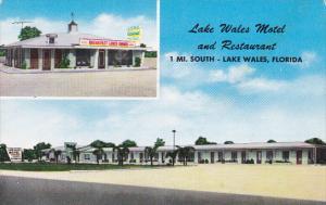 Florida Lake Wales Motel & Restaurant