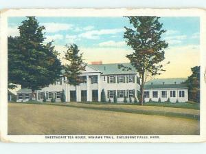 W-Border MOTEL Shelburne Falls By Deerfield & Greenfield & Springfield MA c5985