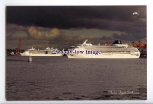 LN0879 - Norwegian Cruise Line Liner - Norwegian Sun , built 2001 - postcard