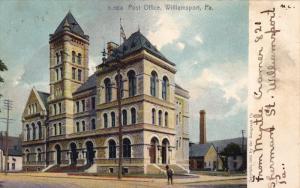 Post Office, WILLIAMSPORT, Pennsylvania, PU-1906