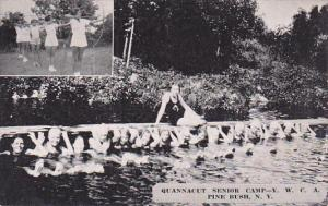 New York Archery and Swimming Pool at Quannacut Y M C A Senior Camp Dexter Press