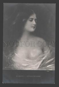 115899 Semi-NUDE Belle LONG HAIR Indecisive by ASTI old PHOTO