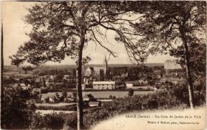 CPA SABLE - Un Coin du Jardin de la Ville (391025)
