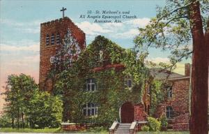 Alabama Anniston Saint Michaels And All Angels Episcopal Church 1948
