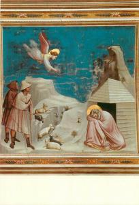Italy Padova Cappella degli Scrovegni The Dream of Joachim