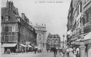 France Lille La Rue des Manelliers