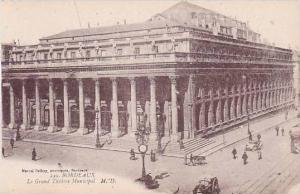 France Bordeaux Le Grand Theatre Municipal