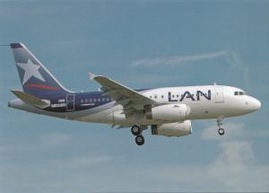 LAN, A318-121, unused Postcard