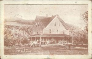 Wagner's Brookside Cottage North Branch Sullivan Co NY Private Mailing Card