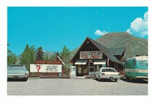 Postcard Wyoming WY Teton Mystery Jackson Hole Standard View Card Old Cars