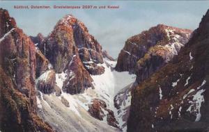 Grasleitenpass 2597 m Und Kessel, Sudtirol, Dolomiten, Italy, 1900-1910s