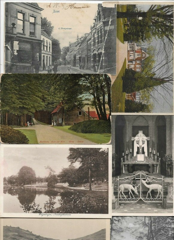 Netherlands Zeist Alkmaar Apeldoorn Kampen And More Postcard Lot of 40 01.04