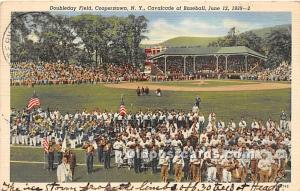 Doubleday Field Cooperstown, New York, NY, USA 1942 Missing Stamp