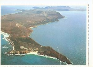 Postal 045049 : Aerial view of Cape Point looking over the Peninsula towards ...