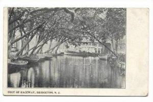 Foot of Raceway, Bridgeton, New Jersey, Pre-1907