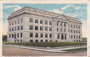 Guilford County Court House Greensboro North Carolina 1921 Curteich