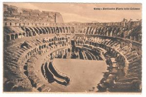 Italy Roma Colosseo Interior Colosseum Vtg Cordari Postcard