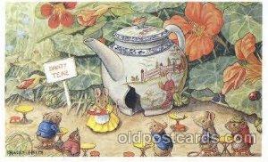 Tea Shop PK 198 Artist Racey Helps, The Medici Society Ltd. London Unused