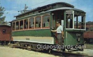 Boston's Transit System, Seashore Trolley Museum Kennebunkport, Maine, USA Un...