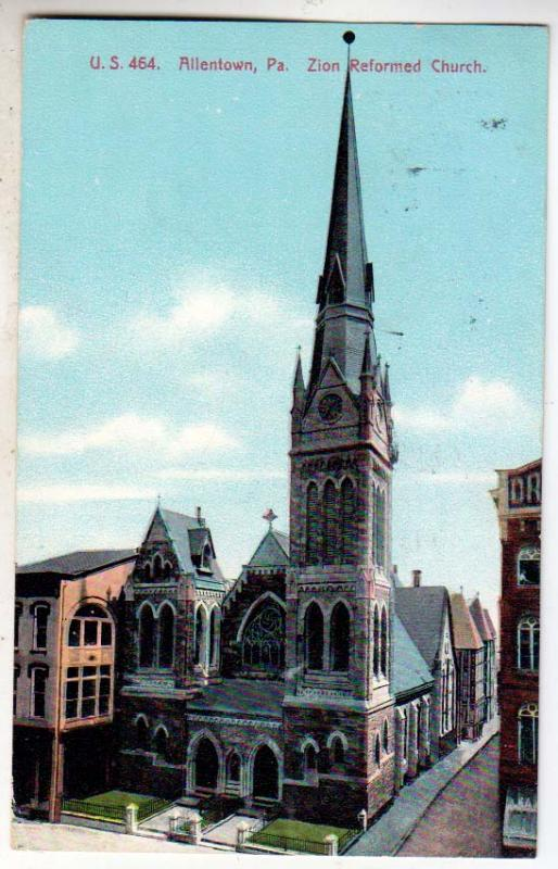 Zoin Reformed Church, Allentown PA