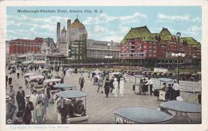 New Jersey Atlantic City Marlborough Blenheim Hotel 1920