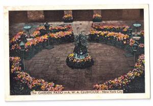 Garden Patio A.W.A. Clubhouse New York City 1940