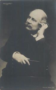 Jules Émile Frédéric Massenet French music composer of the Romantic era