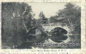 Court Street Bridge Keene NH 1909