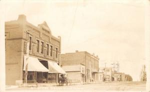 Graceville Minnesota~Main Street~Beer~O'Brien Land Company~Horse Buggy~1914 RPPC