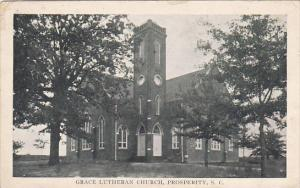 Grace Lutheran Church Prosperity South Carolina 1910