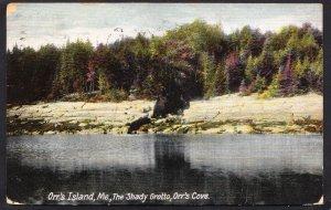 DOLLAR BOX – ME – Orr's Island – The Shady Grotto - 1907