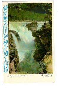 Athabasca Falls, British Columbia,